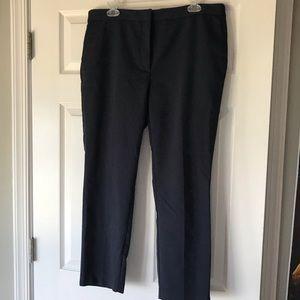 Zara Cropped Elastic Back Trousers
